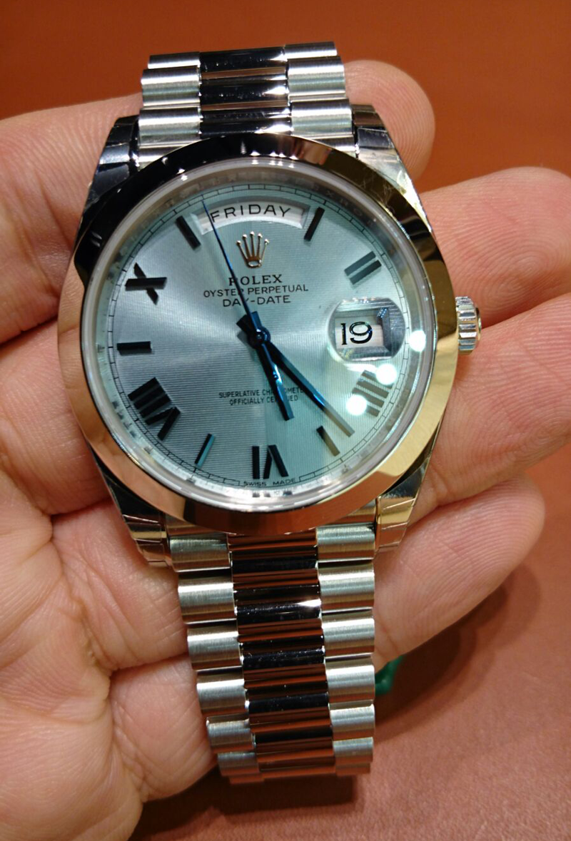 ef9b72e02af New Platinum Day Date 40mm - Need help with dial [Archive] - Rolex Forums -  Rolex Watch Forum