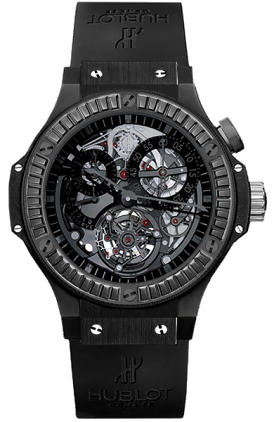 Hublot Tourbillon Bigger Bang All Black Carat 308.CI.134.RX.190