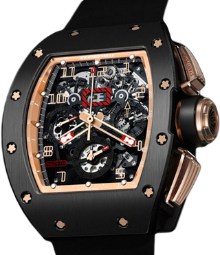 993b2268372 Richard Mille Limited Editions RM 011 Felipe Massa «Black Kite» RM 011  Felipe Massa Flyback Chronograph