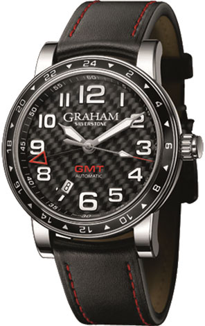 Graham Silverstone Time Zone Black 2TZAS.B02A