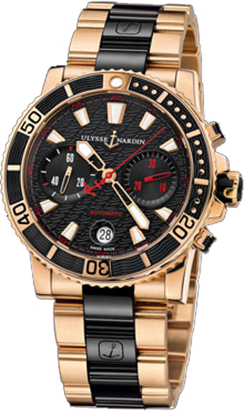 Ulysse Nardin Marine Collection Diver Chronograph 8006-102-8C/926