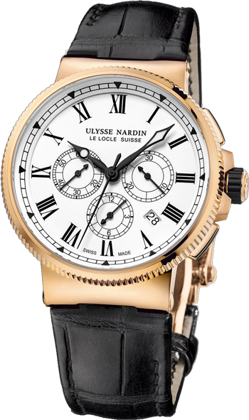 Ulysse Nardin Marine Collection Chronograph Manufacture 1506-150LE