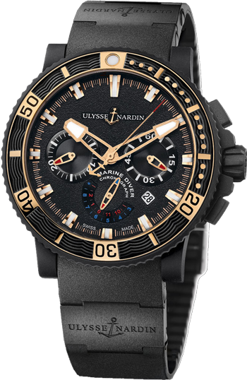 Ulysse Nardin Marine Collection Black Sea Chronograph 353-90-3C