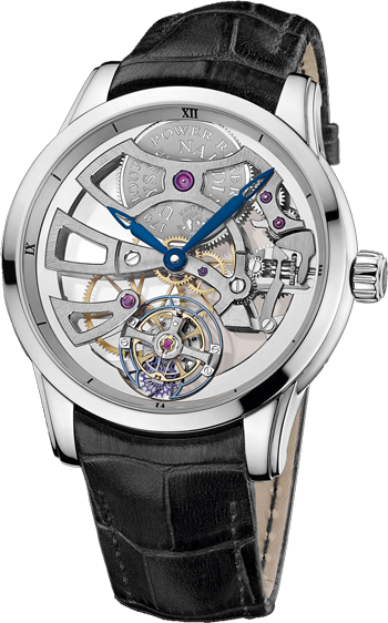 Ulysse Nardin Complications Skeleton Manufacture 1709-129