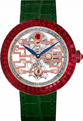 Jacob & Co. Watches High Jewelry Masterpieces Brilliant Art Deco Ruby BT545.40.BR.RB.A