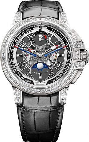 Harry Winston Ocean Collection 20th Anniversary Biretrograde Perpetual Calendar OCEAPC42WW002