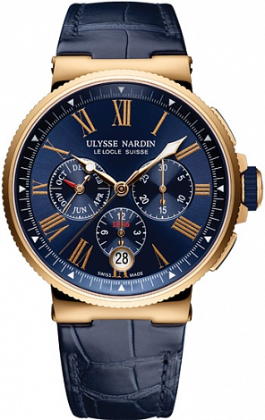 UN Marine Collection Chronograph Annual Calendar 1532-150/43