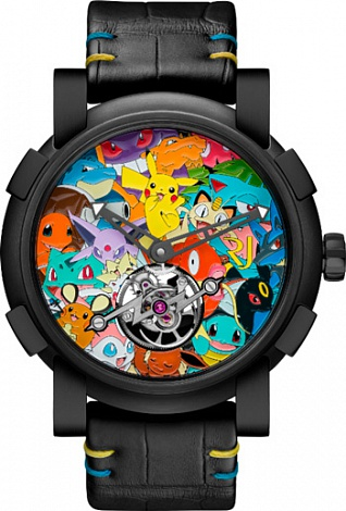 Romain Jerome Titanic-DNA Tourbillon Pokemon RJ.M.TO.PK.032.01