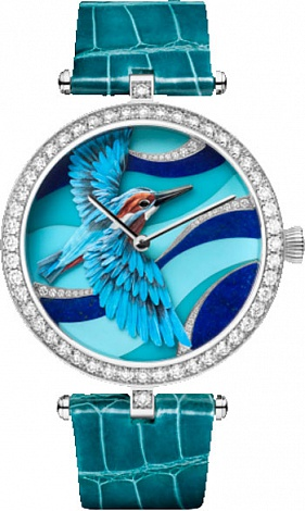 Van Cleef & Arpels All watches Lady Arpels Martin-Pêcheur Azur VCARO4KC00