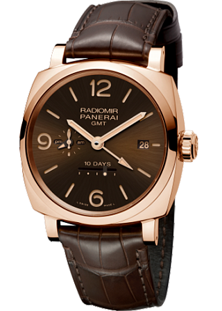 PANERAI RADIOMIR 1940 10 Days GMT Automatic Oro Rosso - 45 mm  PAM00625
