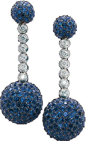 De Grisogono Jewelry Boule Collection Earrings 12118/12