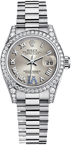 Rolex Datejust 26,29,31,34 mm Lady 26mm White Gold 179159-0094