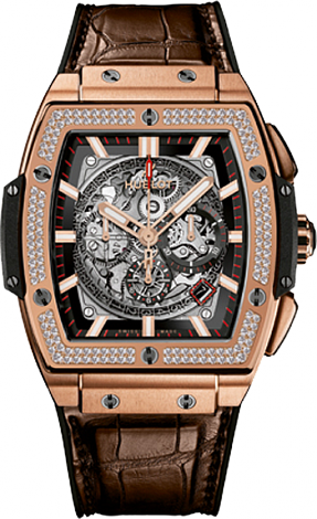 Hublot Spirit of Big Bang Diamonds KING GOLD 601.OX.0183.LR.D.1104