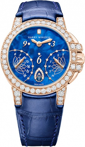 Harry Winston Ocean Collection Biretrograde OCEABI36RR033