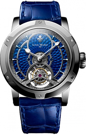 "Louis Moinet Limited editions MOGADOR ""Rhapsody in Blue"" LM-44.20.20"