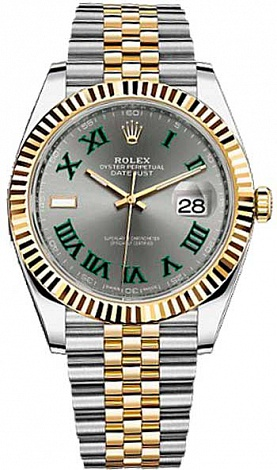 Rolex Datejust 36,39,41 mm 41 mm Steel and Yellow Gold 126333