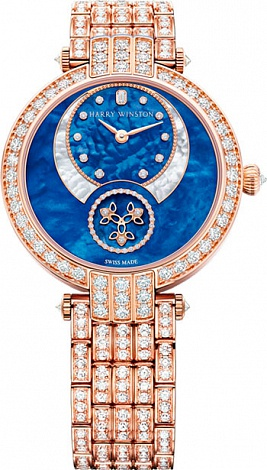 Harry Winston Premier Diamond Second Automatic 36mm PRNASS36RR003