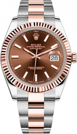 Rolex Datejust 36,39,41 mm Steel and Everose gold 41 mm 126331-0003