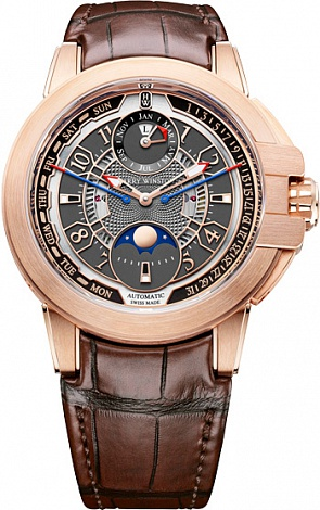Harry Winston Ocean Collection Biretrograde Perpetual Calendar OCEAPC42RR001