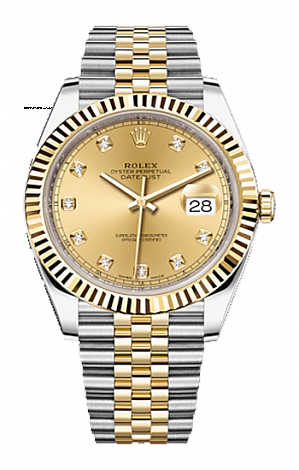 Rolex Datejust 36,39,41 mm 41 mm Steel and Yellow Gold 126333-0012