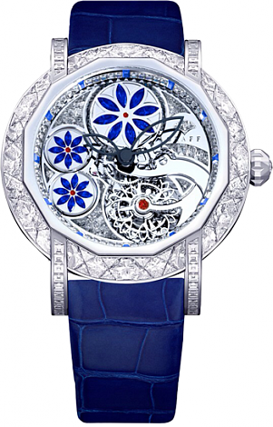 Graff Collection Floral Tourbillon Blue Sapphires Floral Tourbillon Blue Sapphires