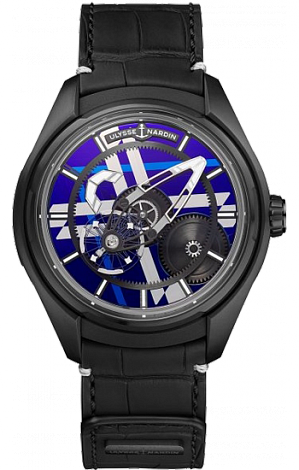 UN Complications Freak X Silicium Marquetry 2303-270LE/02-MARQ