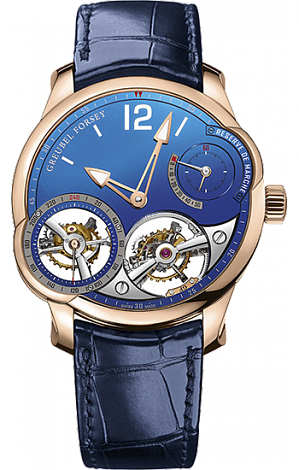 Greubel Forsey Quadruple Tourbillon Quadruple Tourbillon Blue Rose Gold