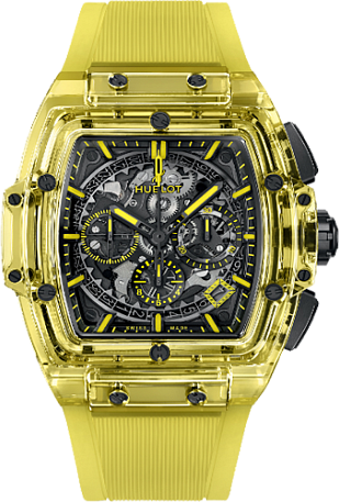 Hublot Spirit of Big Bang YELLOW SAPPHIRE 45 мм 601.JY.0190.RT