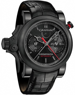 Graham Chronofighter Trigger Rattrapante 2TRRB.B08A.C86N