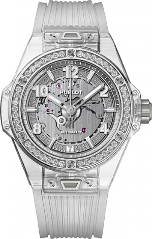 Hublot Big Bang One Click 39 MM One Click Sapphire Diamonds  465.JX.4802.RT.1204
