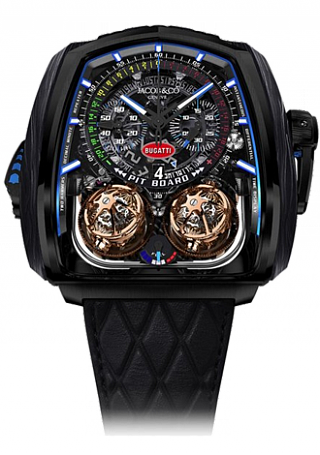 Jacob & Co. Watches Grand Complication Masterpieces Twin Turbo Furious Bugatti TT200.21.AA.AA.A