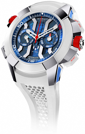 Jacob & Co. Watches Epic X Chrono Messi Titanium EC423.32