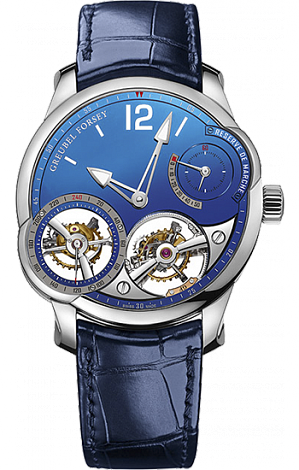 Greubel Forsey Quadruple Tourbillon Quadruple Tourbillon Blue Platinum