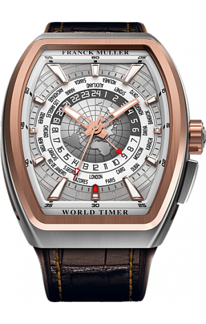 Franck Muller Vanguard World Timer GMT V45 SC HU GMT