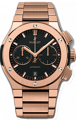 Hublot Classic Fusion Chronograph King Gold Bracelet 45 mm 520.OX.1180.OX
