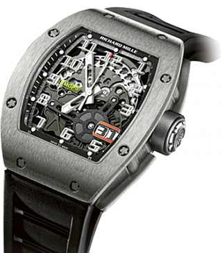 Richard Mille Men's Collection Automatic with Oversize Date RM 029 WG