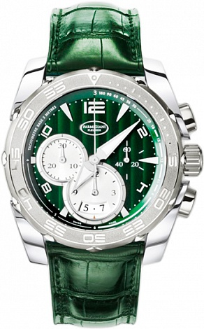 Parmigiani Fleurier Pershing Racing green PFC528-0414100-HA4142