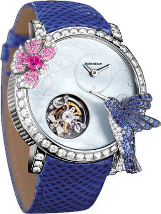 Boucheron Crazy Jungle Hibiscus Tourbillon WA010236